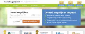 Het nieuwe uiterlijk van Usenetvergelijker.nl