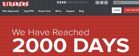 2000 dagen retentie bij Giganews